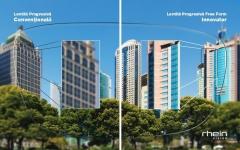 Comparație dintre lentilă progresivă convențională și lentilă Free Form Innovation
