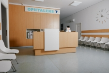 Receptie clinica oftalmologica