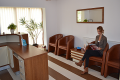 Sala de asteptare centru stomatologic dr. Andrea Chisnoiu